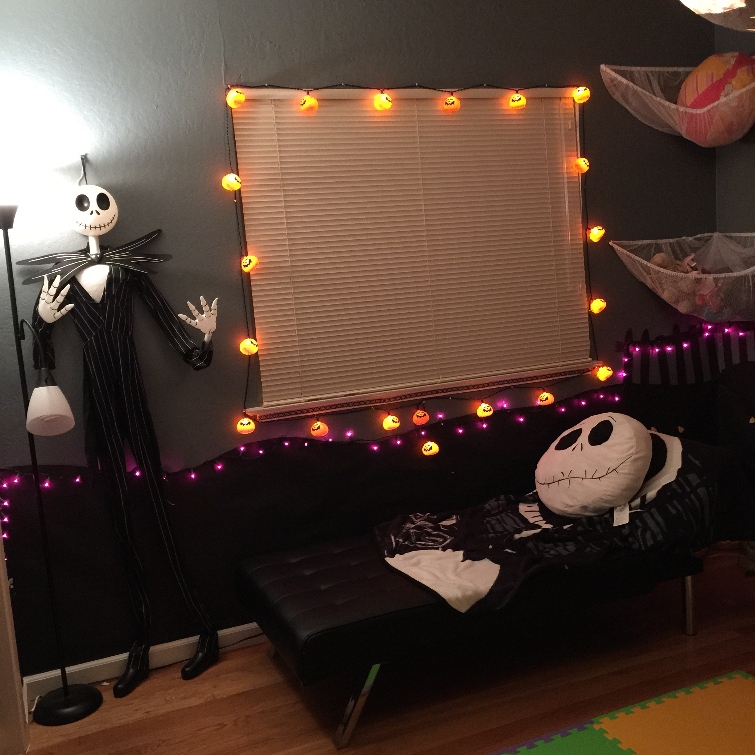 nightmare before christmas nursery on a budget